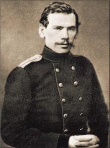 Толстой - артиллерийский офицер