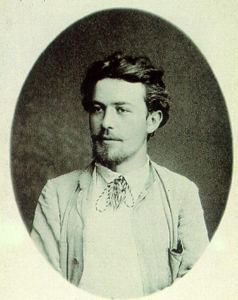 Антон Чехов. 1888 год.